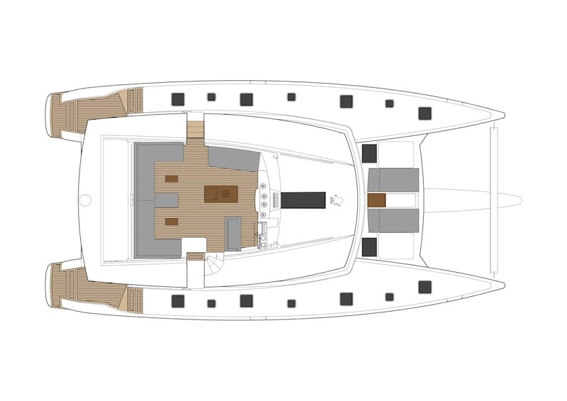Ipanema 58 layout-Flybridge