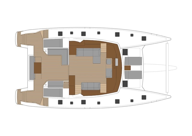 Ipanema 58 layout-Lounge-Main-Deck