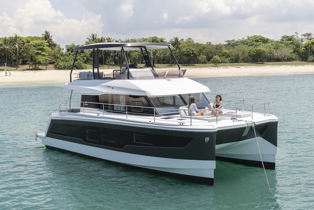 Fountaine Pajot MY40 mooring 3