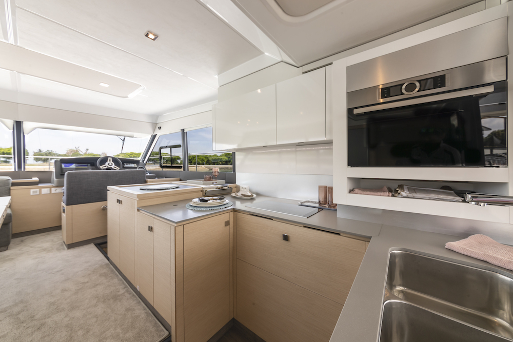 Fountaine Pajot MY40 galley