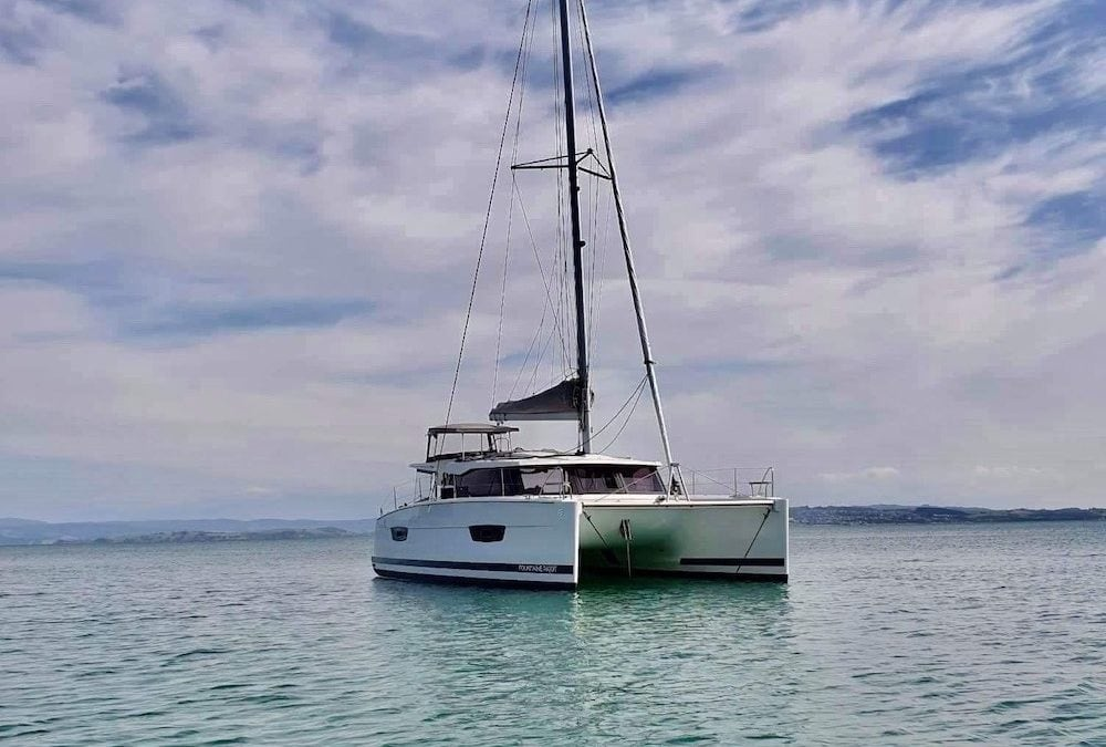 Second Sailing Catamaran Syndicate Complete