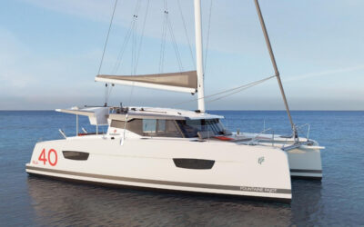 THE BRAND NEW RELEASE ISLA 40 — OUR NEXT SAILING CATAMARAN SYNDICATE