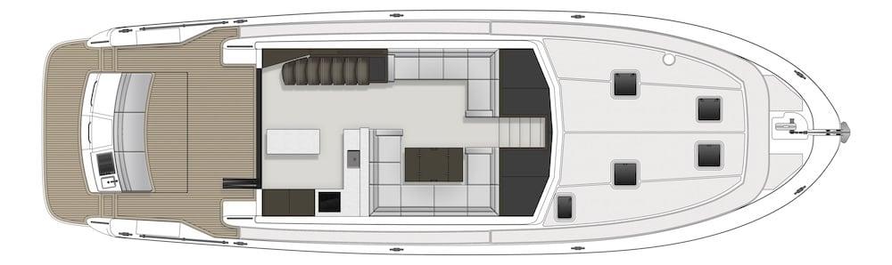 Maritimo M59 GA Plan