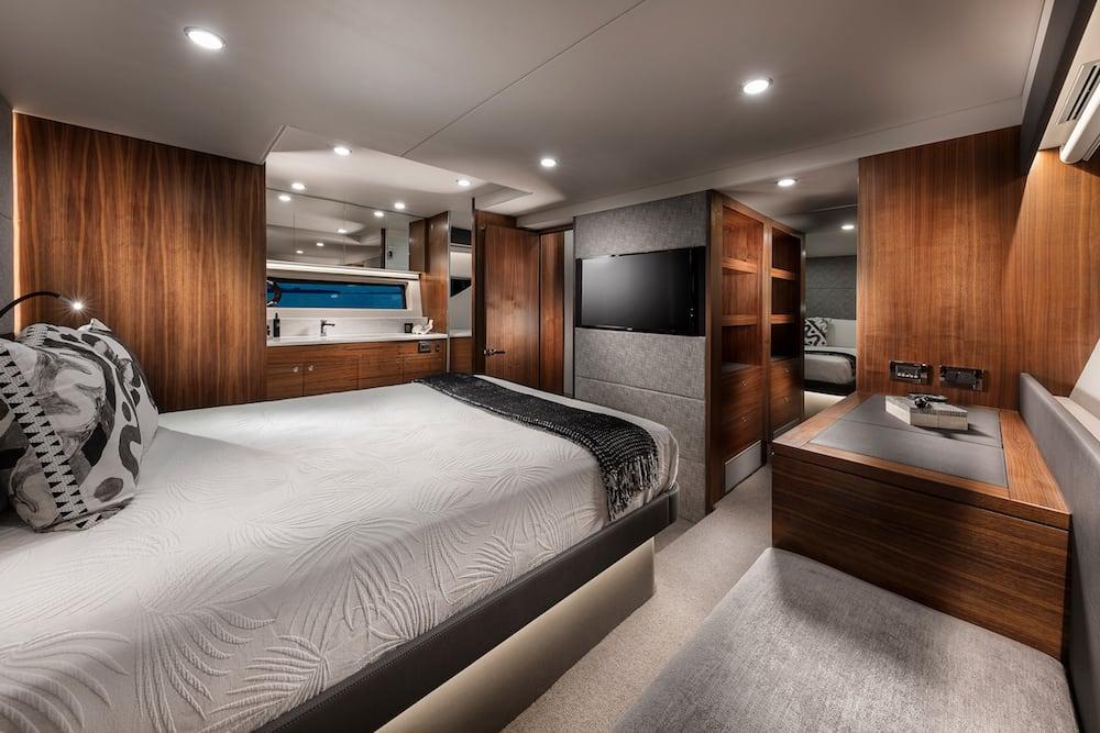 Maritimo X60 master cabin
