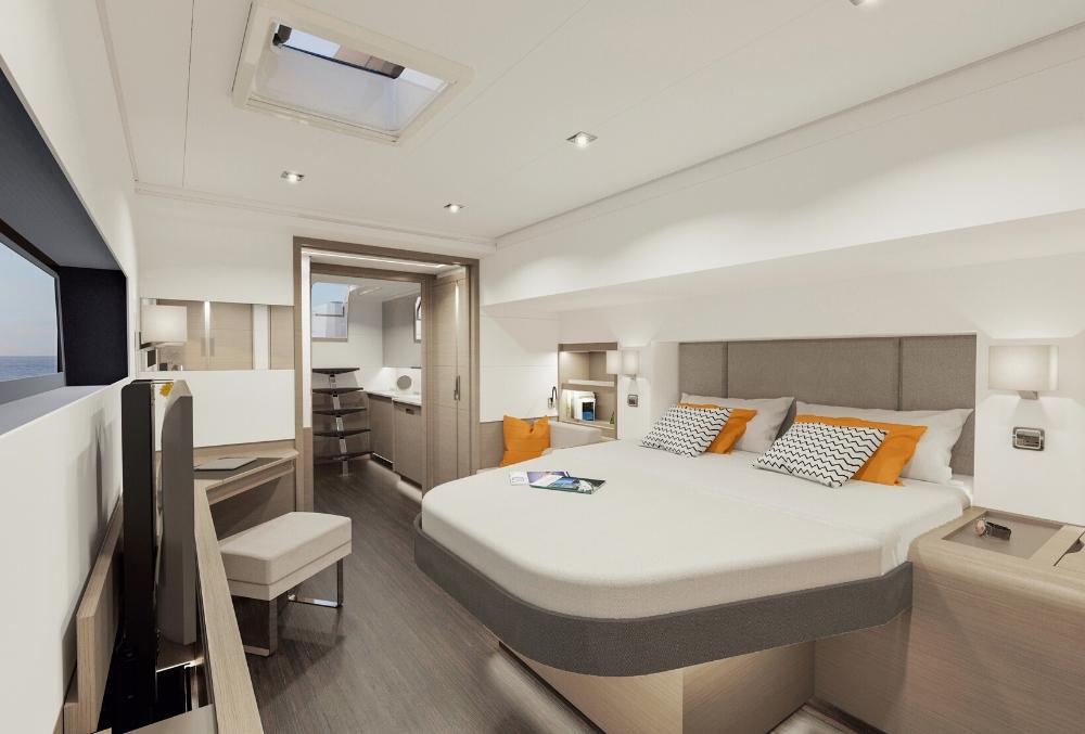 New 59 master cabin