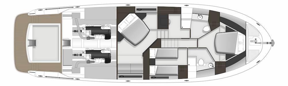 Maritimo S59 accommodation