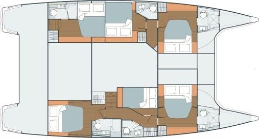 Saba 50 standard 6 cabin