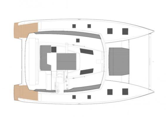 Saona 47 deck